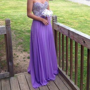 Jasz Couture Prom Dress Size 4